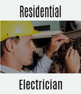 Residential Electrician Service - Sternberg Electric - St Paul, MN - Man working on electric panel