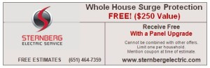 Surge Protector - Sternberg Electric - St Paul, MN - Whole House Surge Protection Coupon