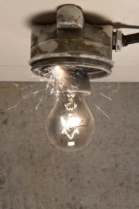 Electrician - Sternberg Electric - Minneapolis, MN - Home Electrical Safety - Light bulb in socket